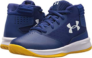 (アンダーアーマー) UNDER ARMOUR キッズバスケットボールシューズ?靴 UA BPS Jet 2017 Basketball (Little Kid) Blue/White 10.5 Little Kid (16.5cm) M