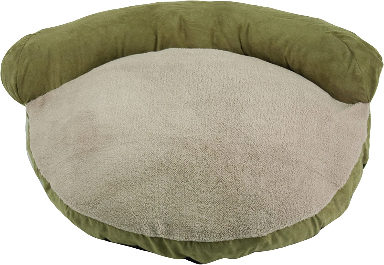 Dallas Manufacturing Co. Products Faux Suede Couch Pet Bed, 34Inch, Sage