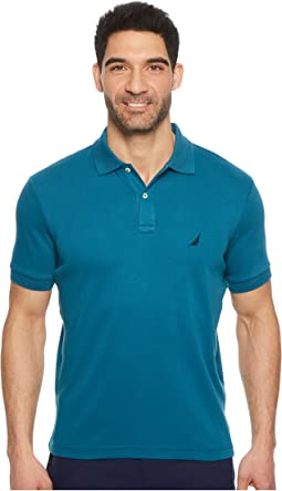Nautica - Short Sleeve Solid Interlock Polo