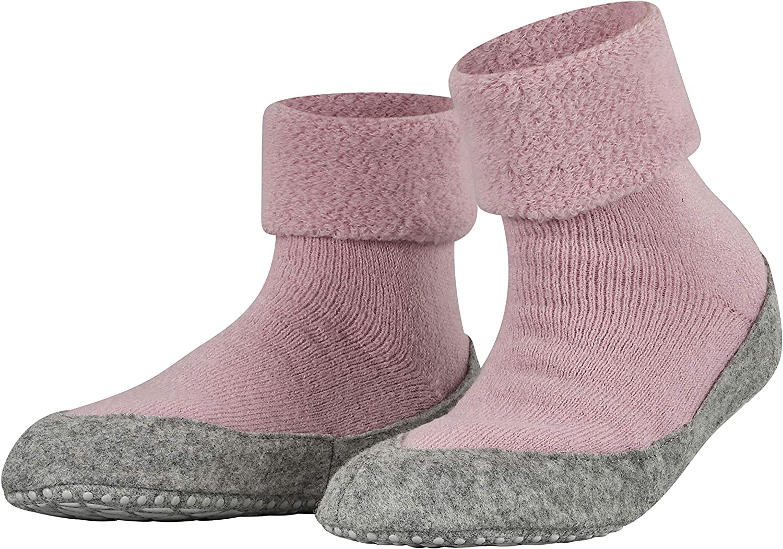 FALKE Casual Sale Womens Cosyshoe Slipper Sock Pink Grey Cheap Merino Wool