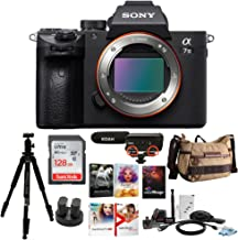 Sony Alpha a7iii Mirrorless Digital Camera (Body Only) with Accessory Bundle