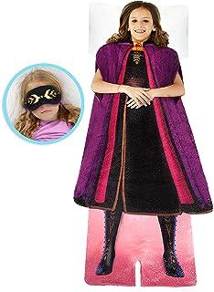 Blankie Tails   Disney Frozen Wearable Blanket - Frozen Disney Movie Double Sided Soft Disney Blanket Minky Fleece Blanket...