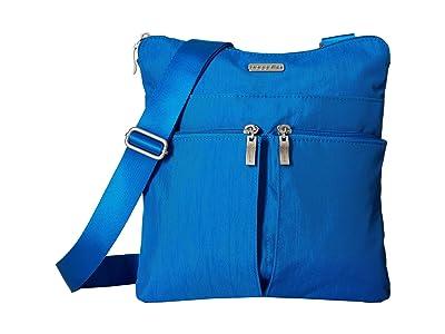 Baggallini Horizon Crossbody (Director Blue) Cross Body Handbags