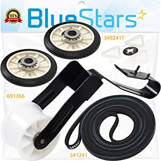 Ultra Durable 4392065 Dryer Repair Kit Replacement Part by Blue Stars – Exact Fit For Whirlpool & Kenmore Dryers - Replaces 279948 587636 80046 AP3131942