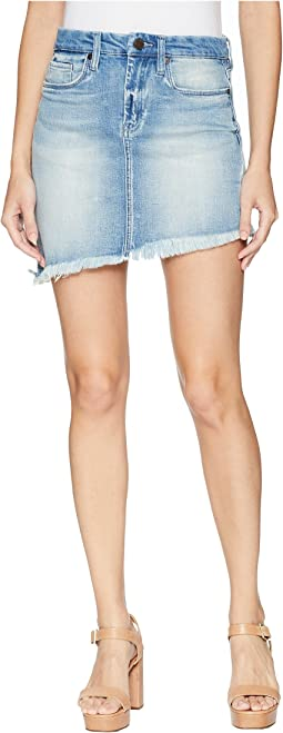 Denim Asymmetrical Skirt in Slumlord