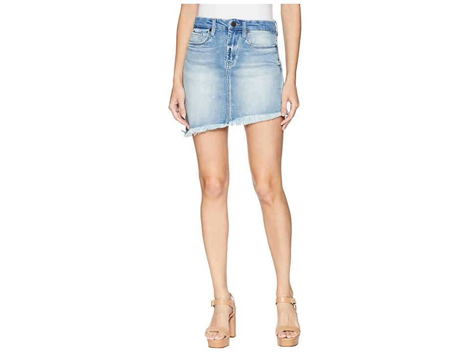 Blank NYC Denim Asymmetrical Skirt in Slumlord (Slumlord) Women
