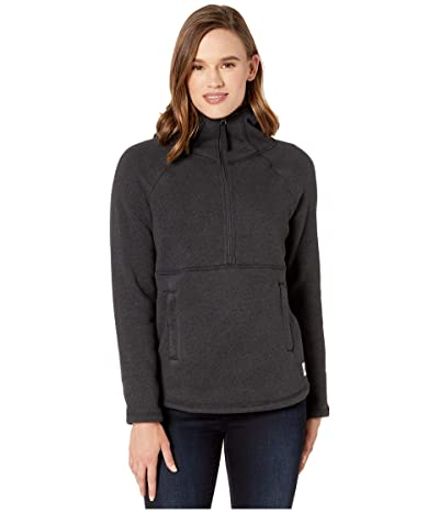 The North Face Crescent Hooded Pullover (TNF Black Heather) Women