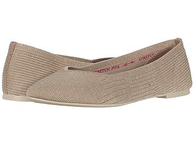 SKECHERS Cleo Knit Skimmer (Taupe) Women