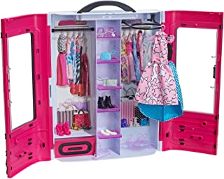 Barbie Fashionistas Ultimate Closet with Clothing and...