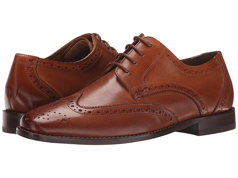 Florsheim Montinaro Wingtip Oxford (Saddle Tan Smooth) Men