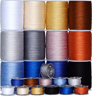 50wt Cotton Thread Mixed Colored Long-Staple Cotton Sewing Thread Spool, Serger Thread Set -12 Spools,150Yds Each Total 1800Yds,-for Quilting, Single Needle,Machine Embroidery,Ovelock (Color 2)