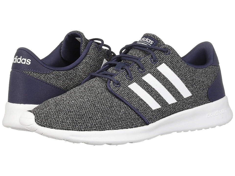 the best attitude 1d805 ba6ea adidas Cloudfoam QT Racer (Trace BlueFootwear WhiteRaw Grey) Womens  Running Shoes