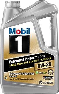 Best Mobil 1 Extended Performance Full Synthetic Motor Oil 0W-20, 5 Quart (120903) Review