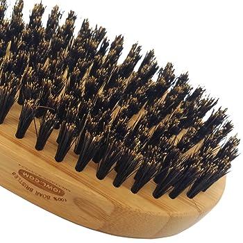 iOwl Hair and Beard Brush for Men