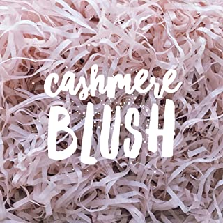 Cashmere Blush Shredded Tissue Paper Shred Dusty Soft Baby Pink Hamper Gift Box Basket Filler Fill Premium Quality