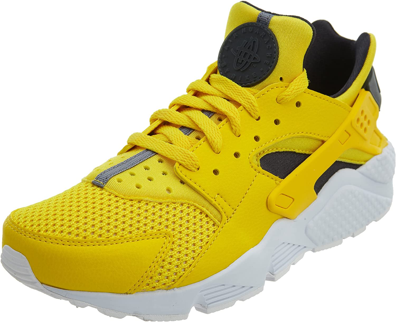 Nike Mens Air Huarache Synthetic Leather-Textile Trainers