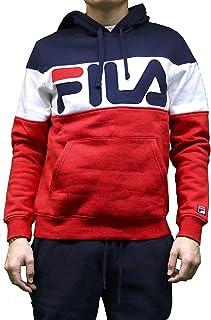 Fila Men's Flamino Pullover Logo Hoodie