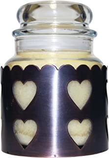 Copper A Cheerful Giver Star Candle Sleeve Small