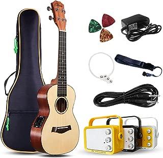 ukulele plug into amp
