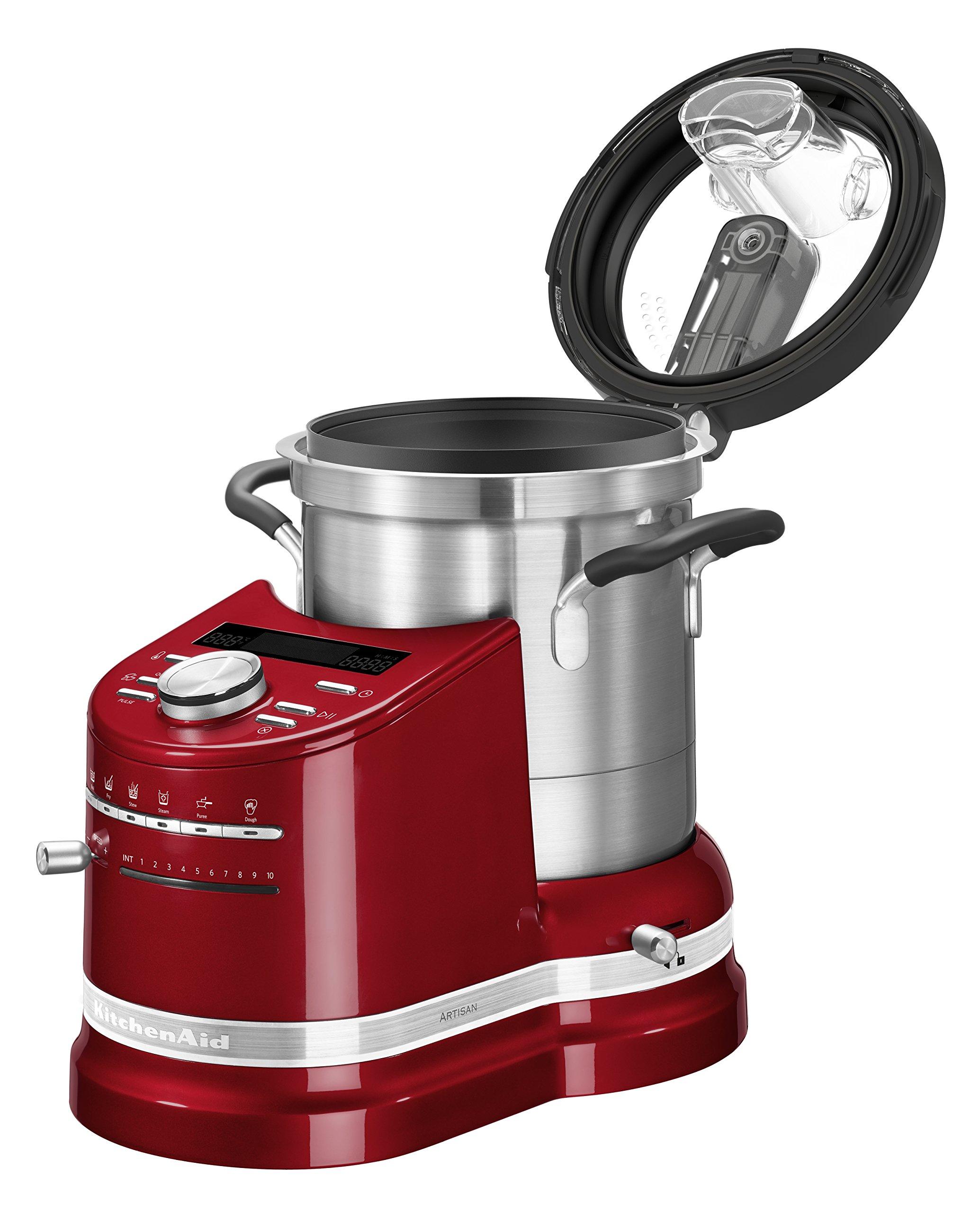 Kitchenaid 5KFC0103ECA Robot de cocina multifunción, color rojo: Amazon.es: Hogar