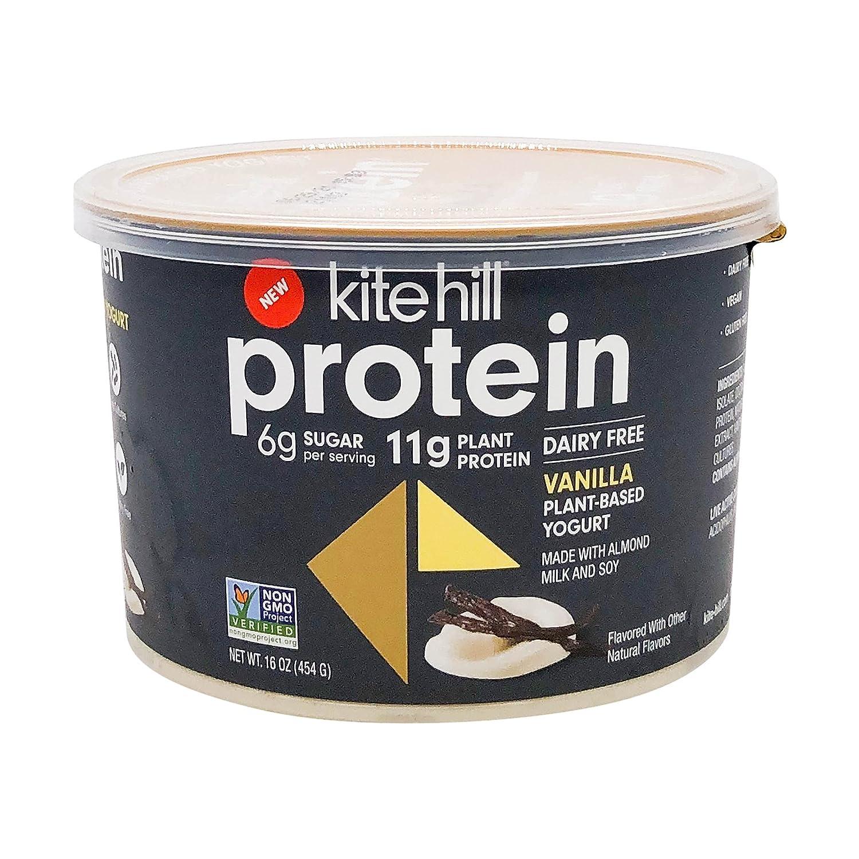 Ranking TOP9 Kite Hill Chicago Mall Vanilla Protein Almond Milk Dairy 16 Ounces Yogurt F
