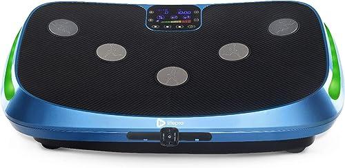 LifePro Rumblex 4D Vibration Plate Exercise Machine - Triple Motor Oscillation, Linear, Pulsation + 3D/4D Vibration P...