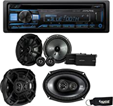 """$339 » Sponsored Ad - Alpine CDE-172BT Bluetooth CD Receiver, a Pair of Kicker 43CSS654 6.5"""" Components, & a Pair of 43CSC6934 6x..."""