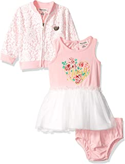 Juicy Couture Baby Girls 3 Pieces Dress Set
