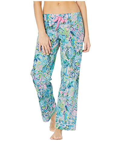 Lilly Pulitzer PJ Woven Pants (Multi Lillys House) Women