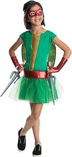 Rubie's Teenage Mutant Ninja Turtles Deluxe Child's Raphael Costume Tutu Dress, Large