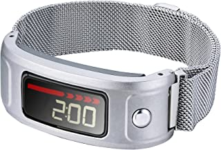 Compatible for Garmin Vivofit Band,Adjustable Stainless Steel Magnetic Watch Bands with Unique Magnet Lock Compatible Garmin Vivofit and Garmin Vivofit 2 Women Men,NOT for Garmin Vivofit 3/4/JR/HR