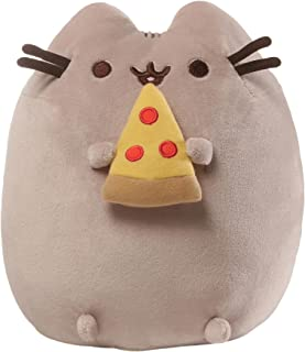 GUND Pusheen Snackables Pizza Plush Stuffed Animal Cat, 9.5