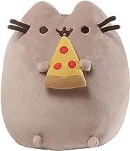 GUND Pusheen Snackables Pizza Plush Stuffed Animal Cat, 9.5