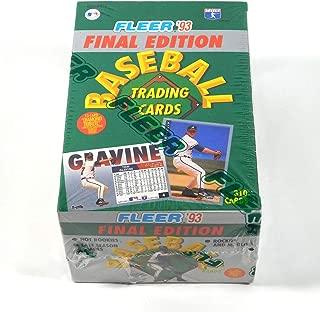 1993 fleer baseball key cards
