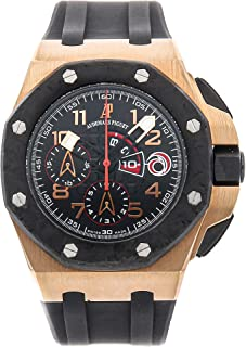 Audemars Piguet Royal Oak Offshore Mechanical (Automatic) Black Dial Mens Watch 26062OR.OO.A002CA.01 (Certified Pre-Owned)