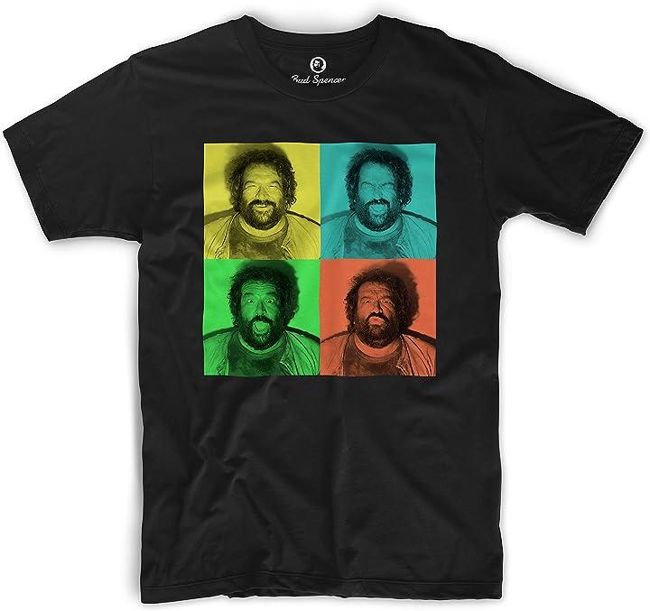 Maglietta bud spencer - t-shirt bud spencer BUD-TSHIRT-BJOE-B