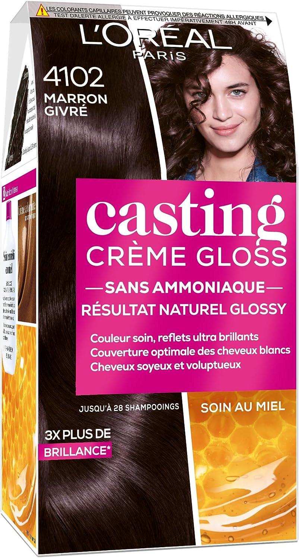 LOréal Paris Casting Crème Gloss 4102 Marrón esmerilado Colección Cool Brunette