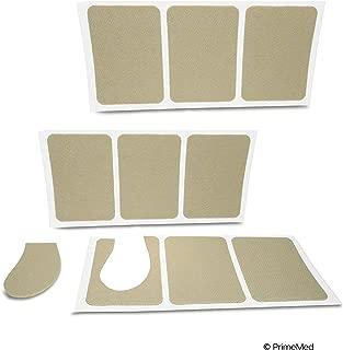 Moleskin Adhesive Pads - 9 Strips of Pure Peel and Stick Moleskin
