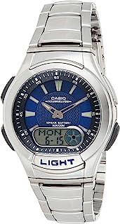 ساعة كاسيو للرجال AQ-180WD-2AVDF - انالوج بعقارب ، رسمية