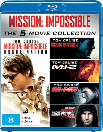 Mission: Impossible 1-5 (Blu-ray)