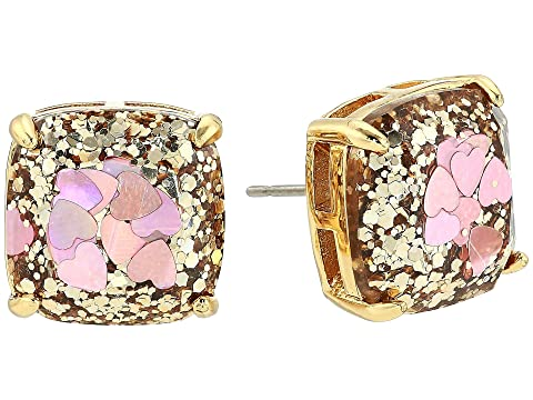 f50e16a5812559 Kate Spade New York Glitter Small Square Stud Earrings at Luxury ...