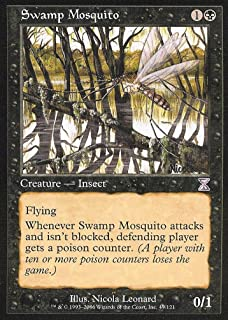 Magic the Gathering: Swamp Mosquito - Time Spiral Time Shifted