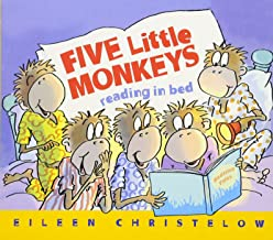 Five Little Monkeys Reading in Bed