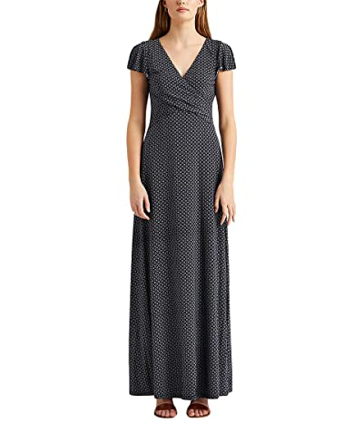 LAUREN Ralph Lauren Print Jersey Dress Women
