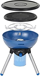 Campingaz Party Grill 200 Camping Stove, All in One Portable Camping BBQ, Outdoor Grill & Stove, Small Gas Barbecue 2.000 ...