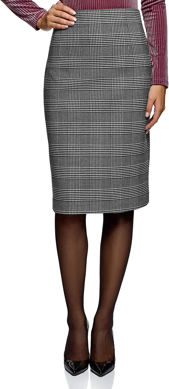 oodji Collection 5 ☆ Finally popular brand very popular Women's Skirt High-Waisted Straight