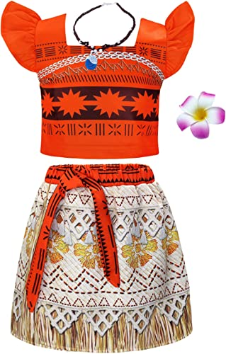 AmzBarley Girls Princess Costume Skirt Sets Birthday Party Dress up Toddler Kids Christmas Cosplay Outfits with Acces...
