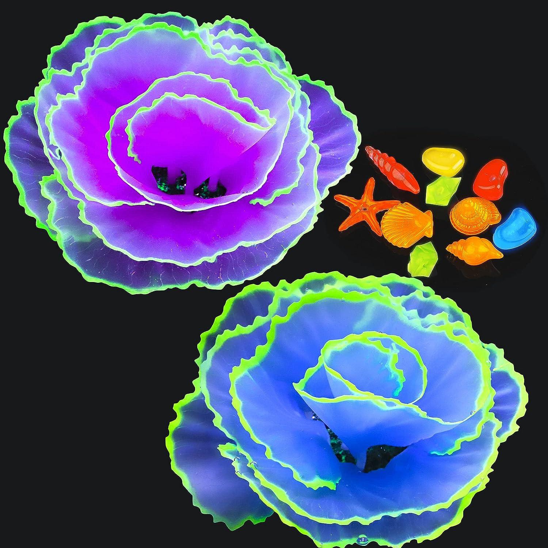 Livfodrm Glow Fish Sales shop Tank Decorations Coral Decor Ornamen Aquarium
