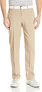 PGA TOUR Mens PVBS7088 Motionflux 360 Flat Front Pant Solid Pants