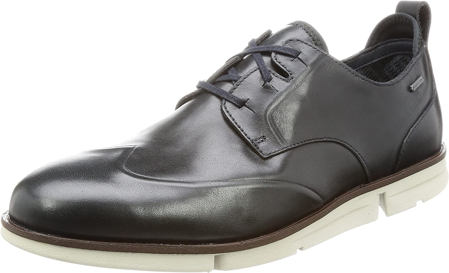 Clarks Trigen Wing GTX - Navy Leather Mens shoes